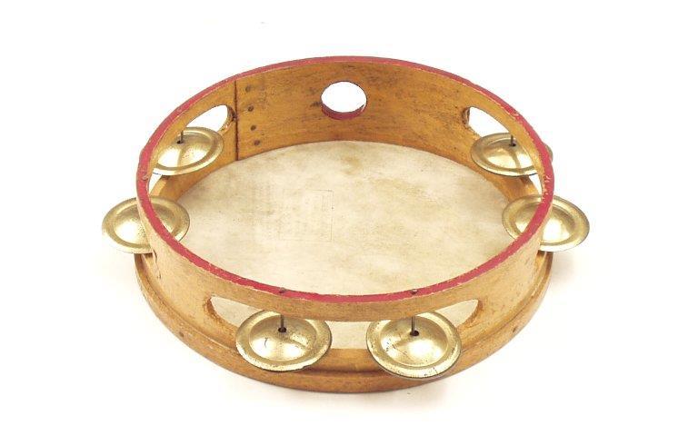 8-inch tambourine. |