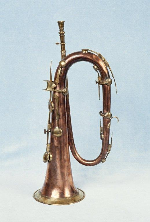 Keyed bugle. Nominal pitch: 4-ft C. | J. Macdonald
