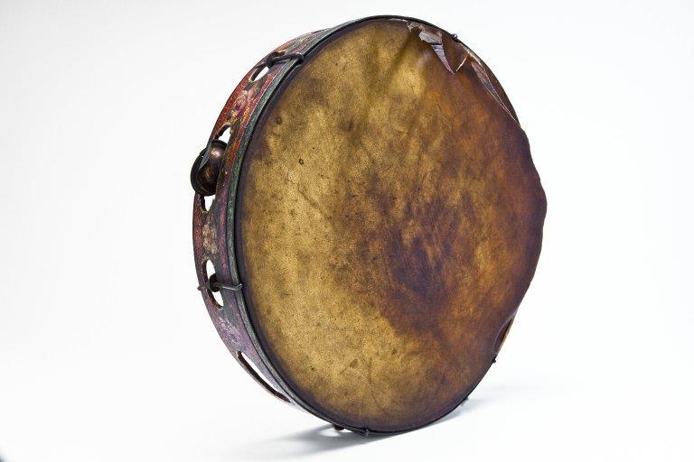 14-inch tambourine. |