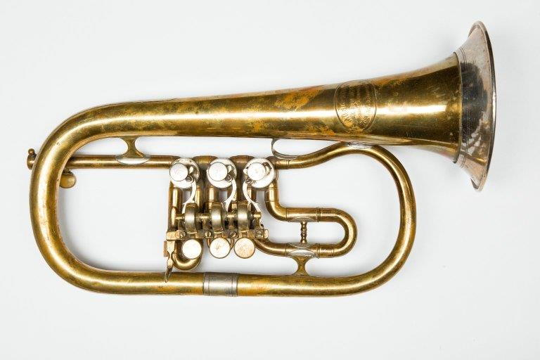 Flugelhorn. Nominal pitch: 4-ft C. | Löwin