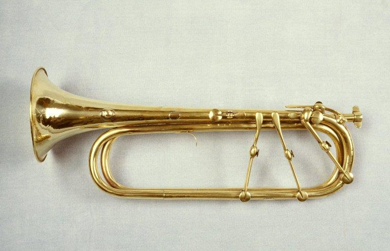 Keyed trumpet. Nominal pitch: E♭. |