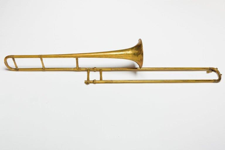 Tenor trombone. Nominal pitch: B♭. | Rudall, Carte & Co