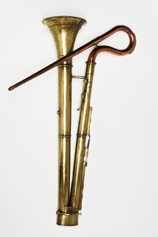 Bass horn. Nominal pitch: 8-ft C. | Richard Curtis