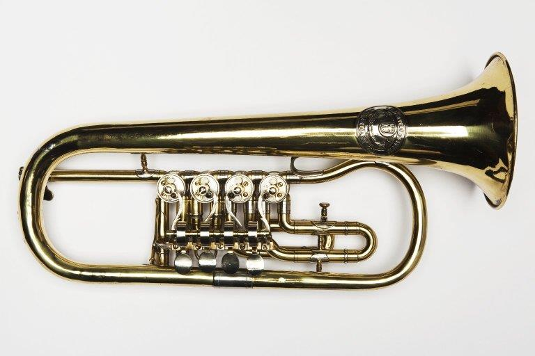 Flugelhorn. Nominal pitch: 4½-ft B♭. | V. F. Cervený