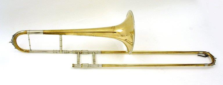Tenor trombone. Nominal pitch: B♭. | Mitsching-Alschausky
