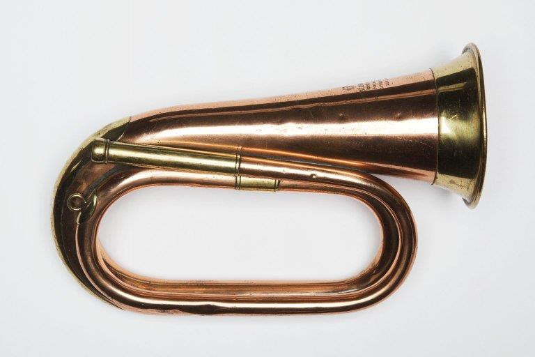 Duty bugle. Nominal pitch: 4½-ft B♭. | Köhler & Son