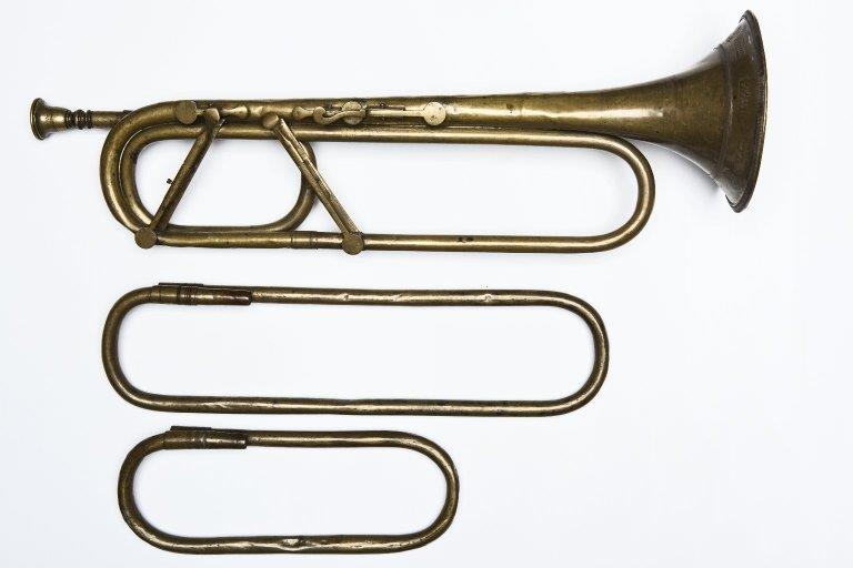 Keyed trumpet. Nominal pitch: G etc. |
