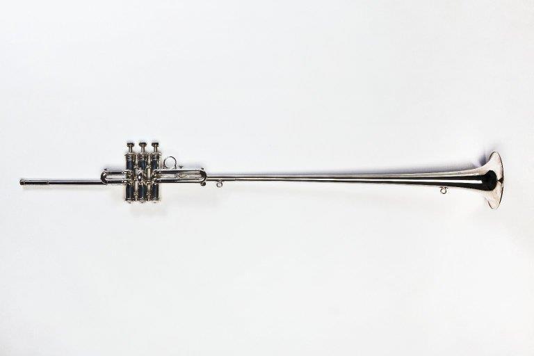 Soprano fanfare trumpet. Nominal pitch: E♭. | Boosey & Hawkes