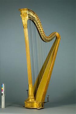 Harpe à double mouvement |