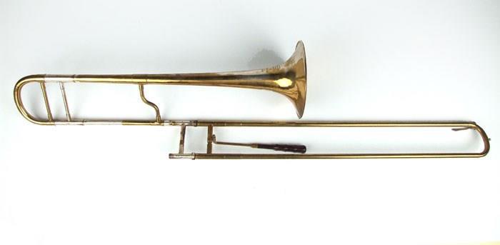 Bass trombone in G   F. Besson