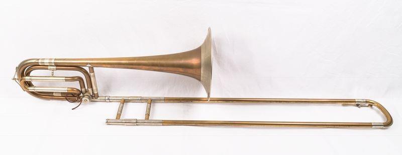 Tenorbass trombone.   Gustav Adolf Wagner