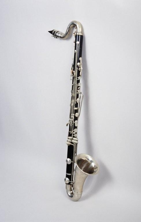 Bass clarinet. Nominal pitch: B?.   V. Kohlert's Söhne