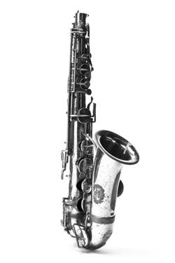 Alto saxophone. Nominal pitch: E?. | John Grey & Sons