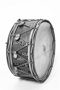 28-inch bass drum. | Potter