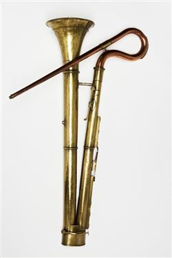 Bass horn. Nominal pitch: 8-ft C. | Richard Curtis