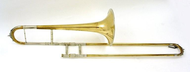 Tenor trombone. Nominal pitch: B?. | Mitsching-Alschausky