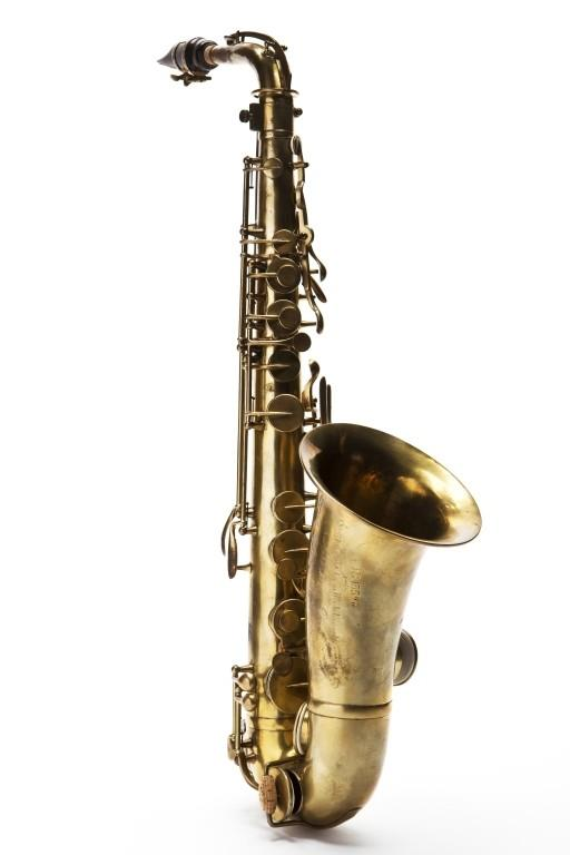 Alto saxophone. Nominal pitch: E?. | Adolphe Sax
