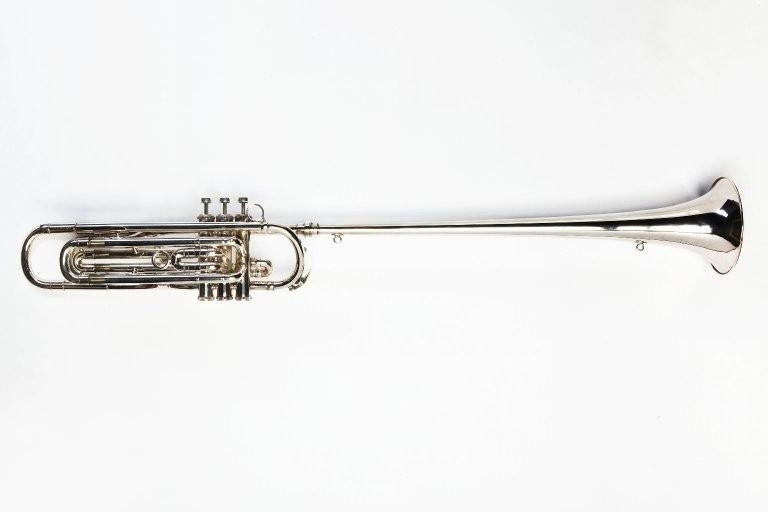 Tenor fanfare trumpet. Nominal pitch: 9-ft B?. | Boosey & Hawkes