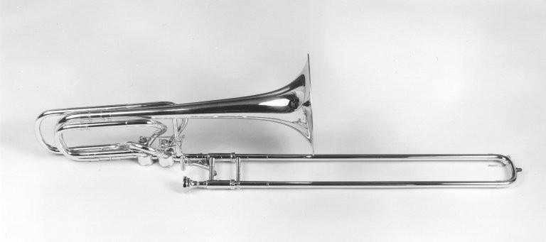 Bass trombone. Nominal pitch: B-flat + F + G.   Michael Rath