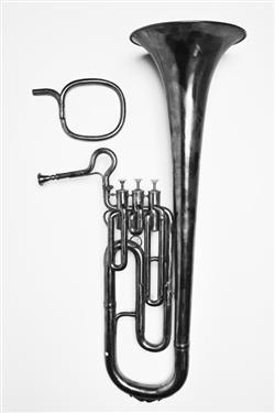 Tenor euphonion. Nominal pitch: 6½-ft E? / 7-ft D / 8-ft C. | Couturier