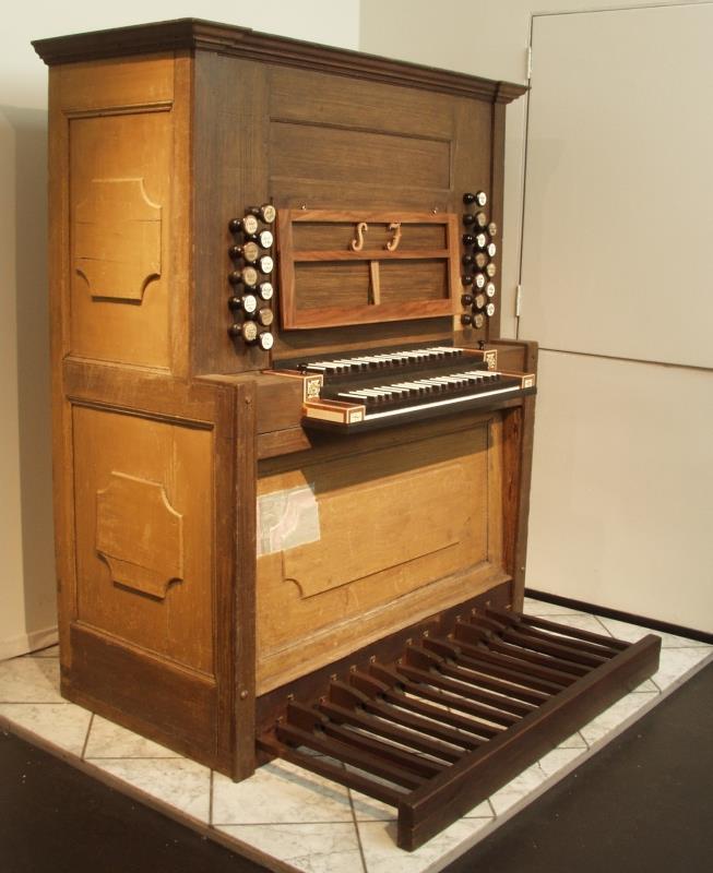 Orgelspieltisch | Johann Scheibe