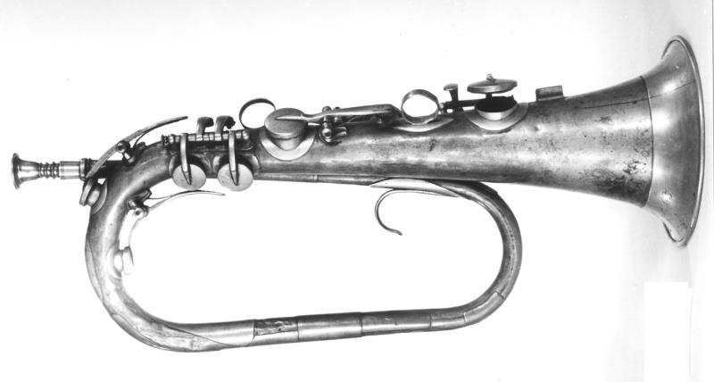 Klappenhorn in D | Johann Friedrich Carl (I) Schmidt