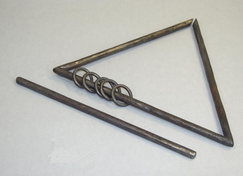 Triangel (offener Ring) | Michael Melzer