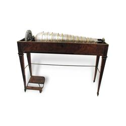 Glass armonica; crystallophone |