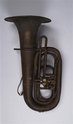 Bass tuba (low B-flat)   Romeo Orsi