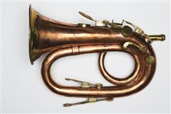 Keyed bugle. Nominal pitch: 4-ft C. | William Sandbach