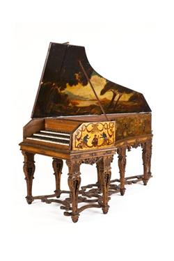 Triple-manual harpsichord. | Stefano Bolcioni