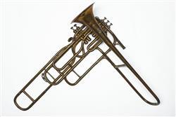 Cavalry valve trombone. Nominal pitch: B?. | Pierre Sénécaut