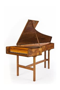 Single-manual harpsichord. | Thomas Barton