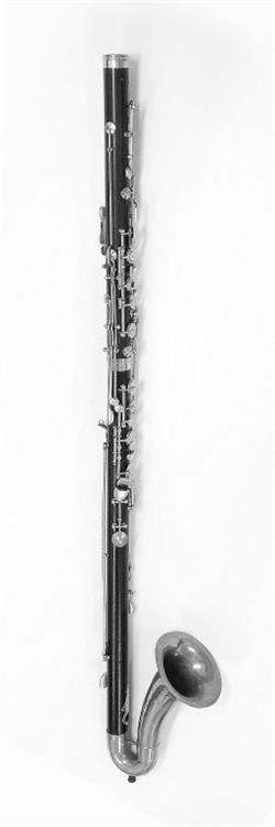 Bass clarinet. Nominal pitch: B?. | Oskar Oehler