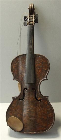 Violine mit Bogen und Kasten | Walter Kobs